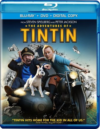 The Adventures of Tintin (Blu-ray + DVD)