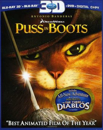 Puss in Boots 3D (Blu-ray)