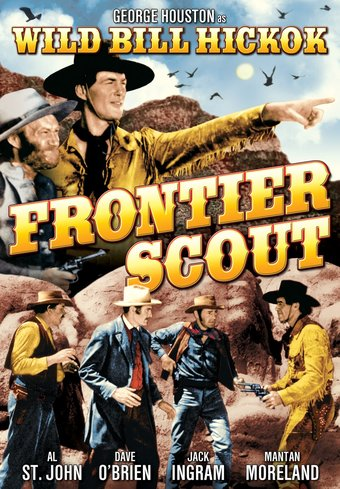 "Frontier Scout - 11"" x 17"" Poster"