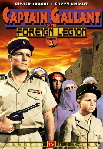 Captain Gallant of The Foreign Legion, Volume 1 -