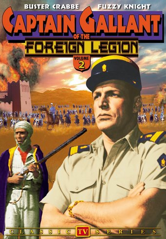 Captain Gallant of The Foreign Legion, Volume 2 -