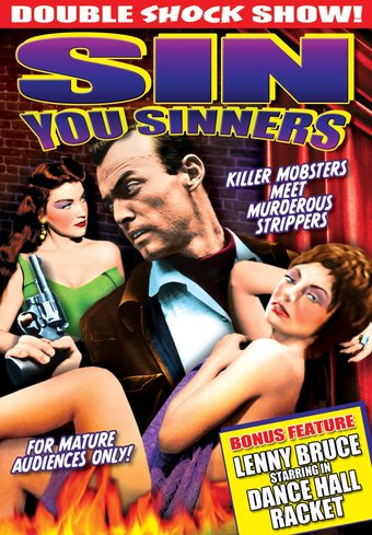 "Sin You Sinners / Dance Hall Racket - 11"" x 17"""
