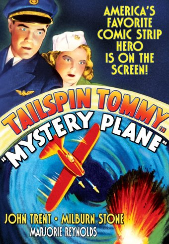 "Tailspin Tommy: Mystery Plane - 11"" x 17"" Poster"