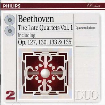 Beethoven: Late Quartets, Volume 1
