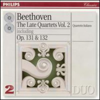 Beethoven: Late String Quartets, Volume 2