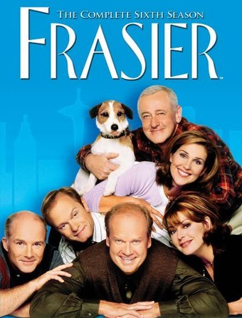 Frasier - Complete 6th Season (4-DVD)