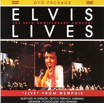 Elvis Lives: 25th Anniversary Concert (Jewel Case)