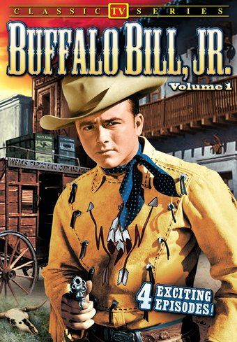 "Buffalo Bill Jr., Volume 1 - 11"" x 17"" Poster"