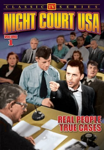 "Night Court USA, Volume 1 - 11"" x 17"" Poster"
