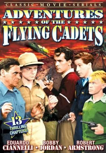 "Adventures of The Flying Cadets - 11"" x 17"" Poster"