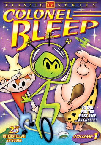 Colonel Bleep (Animated Classic TV Series) - 11""