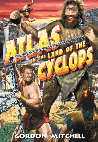 "Atlas In The Land of Cyclops - 11"" x 17"" Poster"
