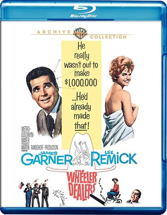 The Wheeler Dealers (Blu-ray)
