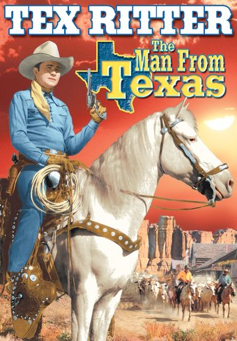 "Man From Texas - 11"" x 17"" Poster"