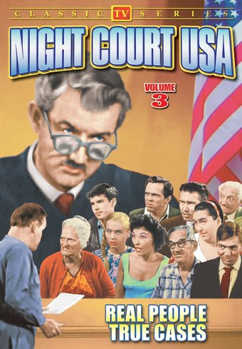 "Night Court USA, Volume 3 - 11"" x 17"" Poster"
