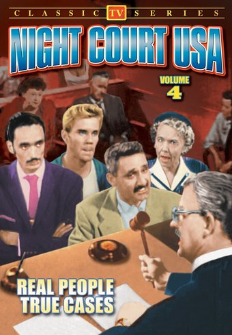 "Night Court USA, Volume 4 - 11"" x 17"" Poster"