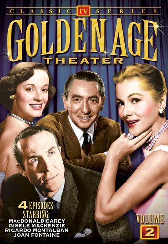 "Golden Age Theater, Volume 2 - 11"" x 17"" Poster"