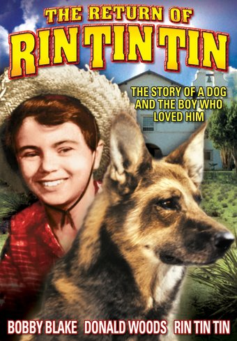 "Rin Tin Tin - The Return of Rin Tin Tin - 11"" x"