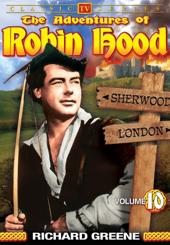 "Adventures of Robin Hood, Volume 10 - 11"" x 17"""