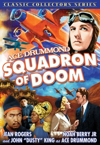 "Ace Drummond: Squadron of Doom (Feature) - 11"" x"