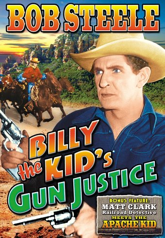 "Billy The Kid's Gun Justice - 11"" x 17"" Poster"