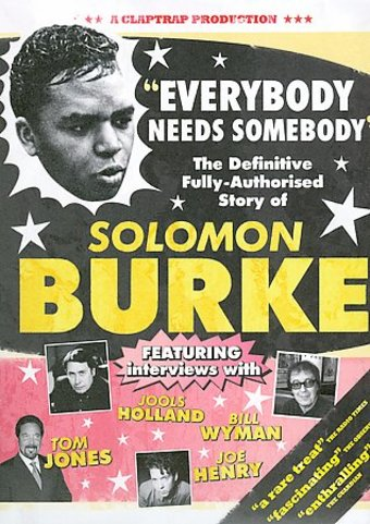 Solomon Burke Everybody Needs Somebody The Definitive