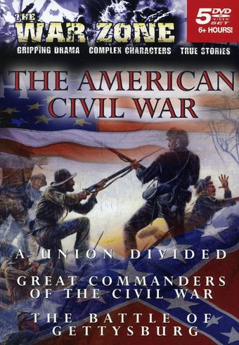 War Zone - The American Civil War (5-DVD)