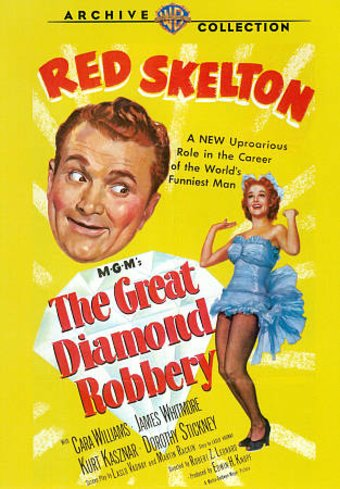The Great Diamond Robbery (Full Screen)
