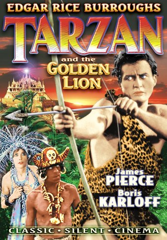 Tarzan and the Golden Lion (Silent)