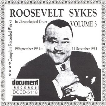 The Complete Recorded Works, Volume 3: 1932-1933
