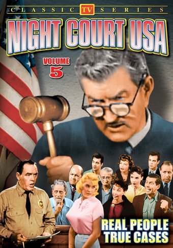 "Night Court USA, Volume 5 - 11"" x 17"" Poster"