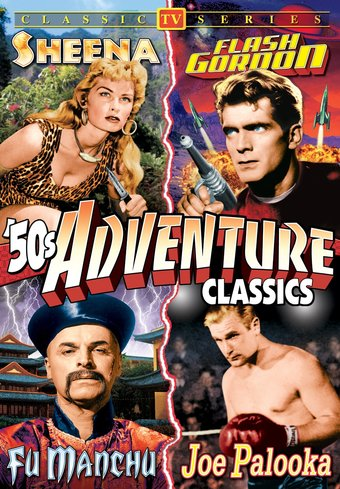 "50's TV Adventure Classics - 11"" x 17"" Poster"