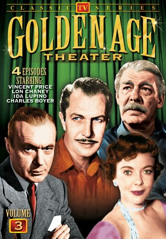 "Golden Age Theater, Volume 3 - 11"" x 17"" Poster"
