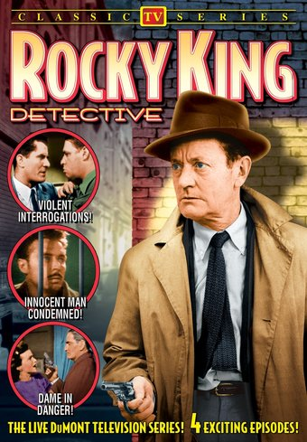 "Rocky King Detective, Volume 1 - 11"" x 17"" Poster"