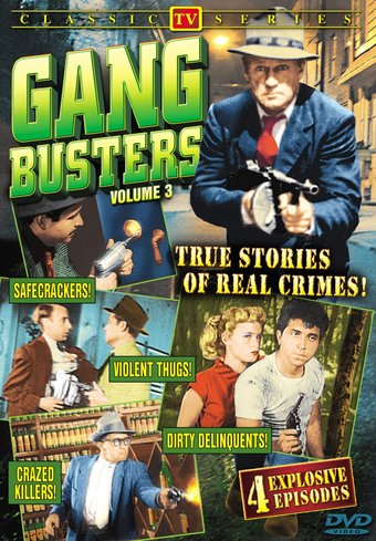 "Gang Busters, Volume 3 - 11"" x 17"" Poster"