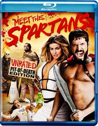 Meet the Spartans (Blu-ray, Unrated Pit of Death