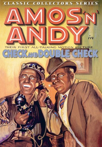 "Amos 'n' Andy - Check and Double Check - 11"" x"