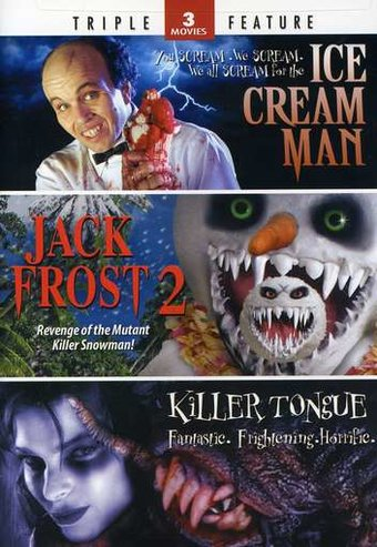 Ice Cream Man / Jack Frost 2 / Killer Tongue