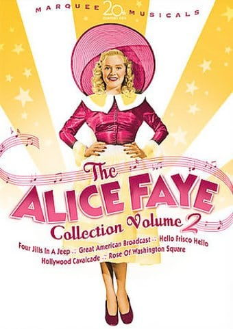 The Alice Faye Collection, Volume 2 (5-DVD,