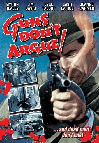 "Guns Don't Argue! - 11"" x 17"" Poster"