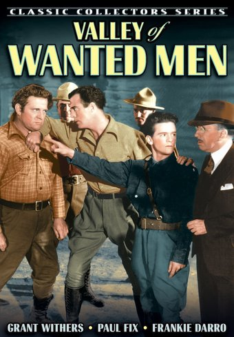 "Valley of Wanted Men - 11"" x 17"" Poster"
