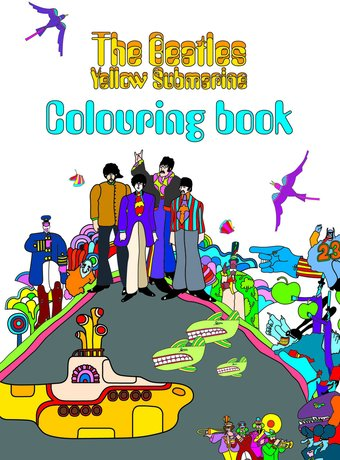 the beatles yellow submarine coloring book rock off. Black Bedroom Furniture Sets. Home Design Ideas