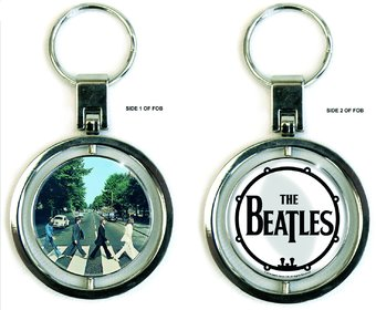 The Beatles - Abbey Road: Spinner Keychain