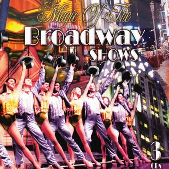 The Magic of the Broadway Shows (3-CD)