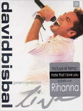 David Bisbal - Premonicion Live (2-DVD, 2-CD Set)