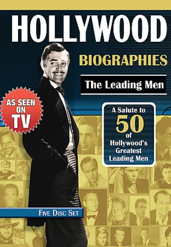 Hollywood Biographies: The Leading Men (5-DVD)