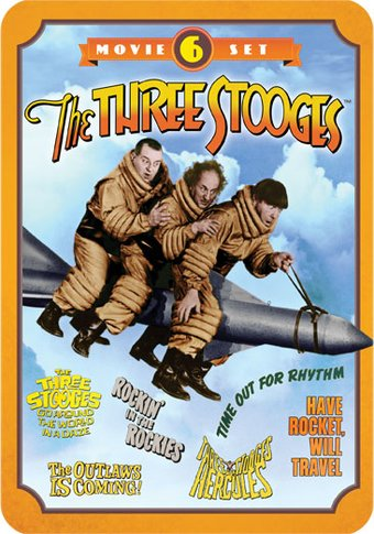 The Three Stooges - 6-Movie Set [Tin Case] (2-DVD)