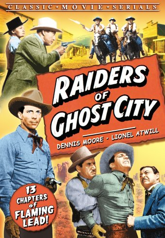 "Raiders of Ghost City - 11"" x 17"" Poster"