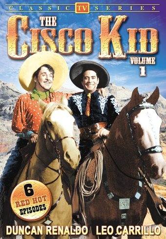 "Cisco Kid, Volume 1 - 11"" x 17"" Poster"