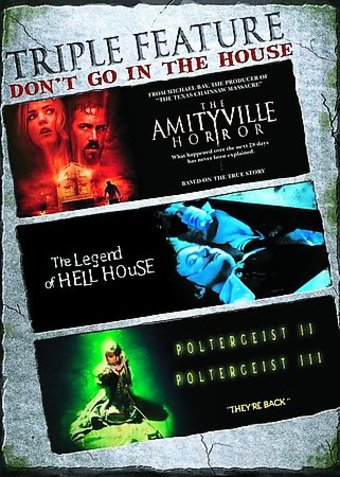 Don't Go Into The House Triple Feature